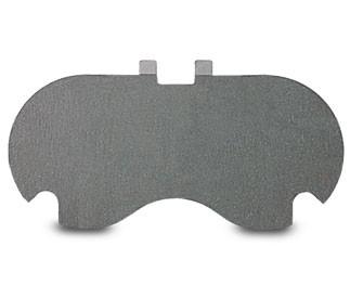 MONTALVO ŘADA HP, HPN - třecí brzdová destička 168x9,5 mm